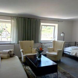 Apartament dla 4 osób salon w Podgórskiej Odskoczni