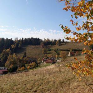jesien w okolicy podgórskiej odskoczni